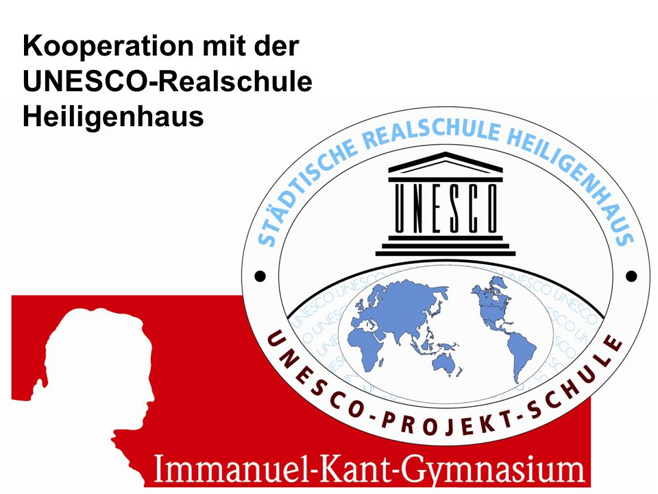 Kooperation mit der UNESCO-Realschule Heiligenhaus