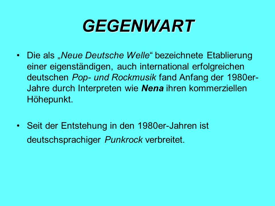GEGENWART