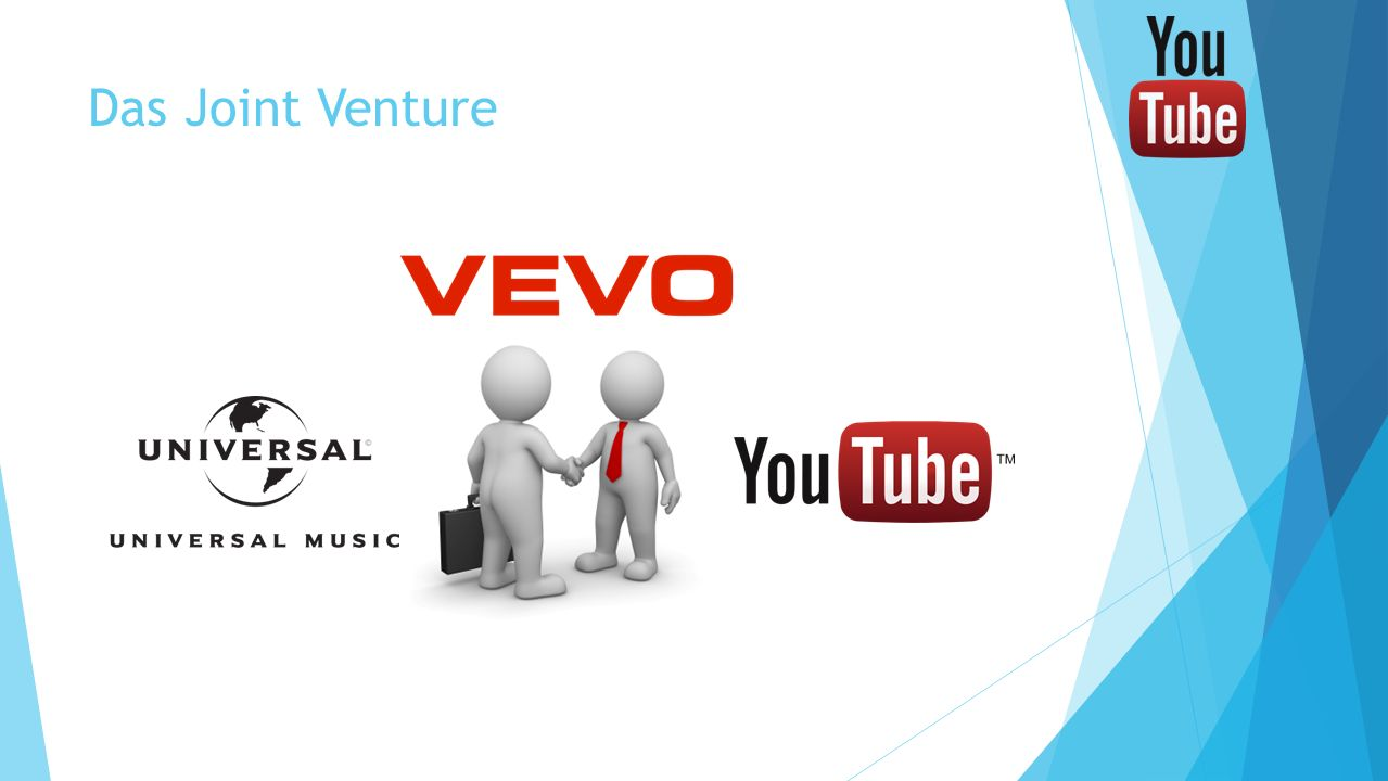 Das Joint Venture Joint Venture zwischen Universal Music Group und YouTube (Vevo) Verfügbar unter der Webseite vevo.com.