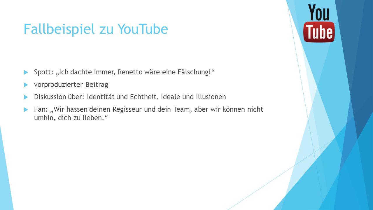 Fallbeispiel zu YouTube