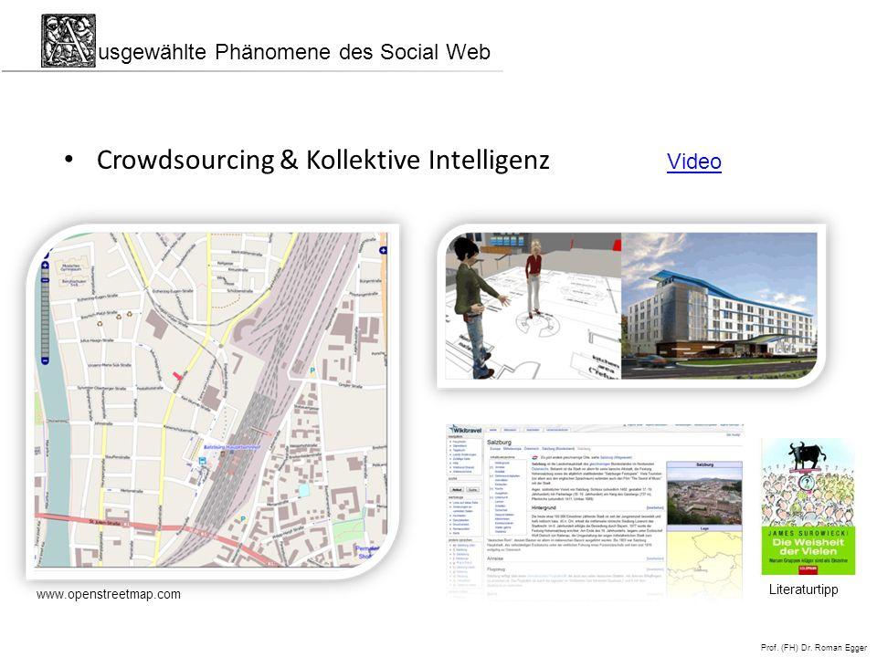 Crowdsourcing & Kollektive Intelligenz