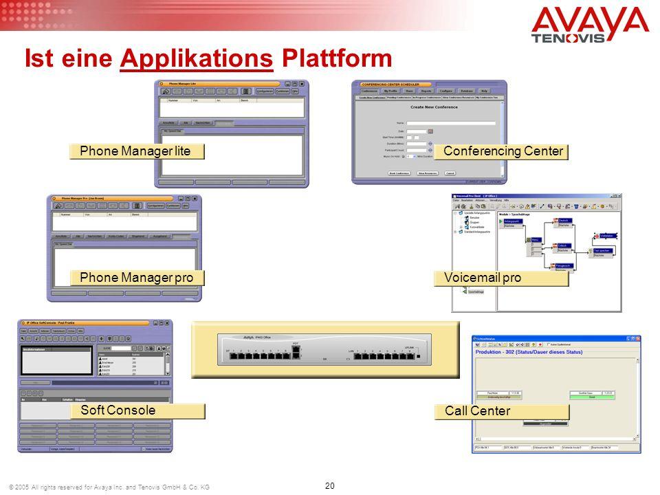 Ist eine Applikations Plattform