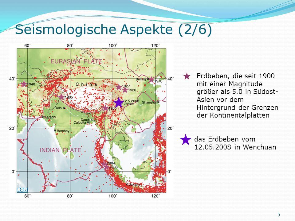 Seismologische Aspekte (2/6)