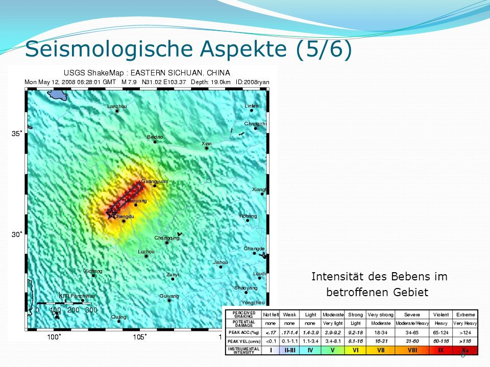 Seismologische Aspekte (5/6)