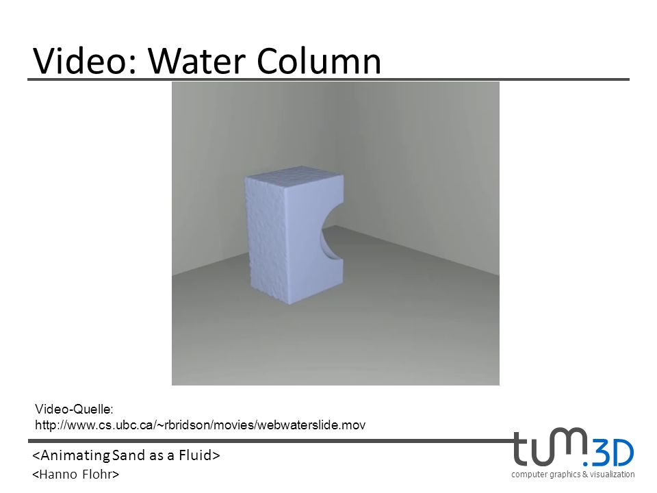 Video: Water Column Video-Quelle: