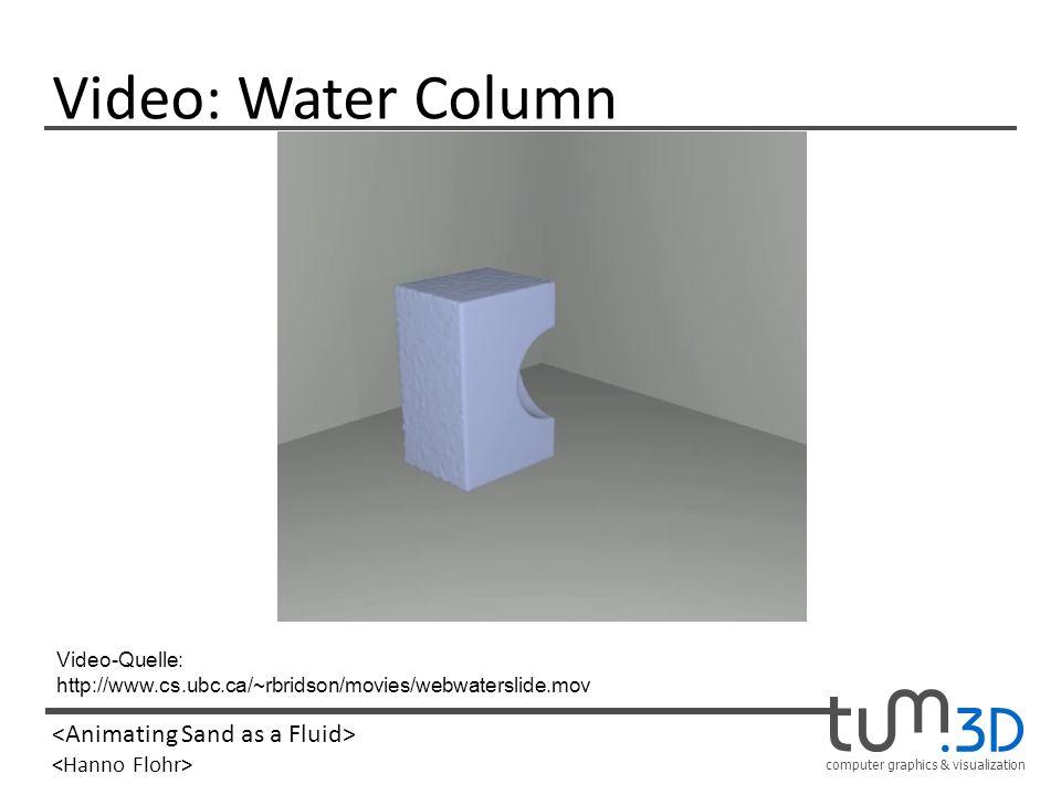 Video: Water Column Video-Quelle: