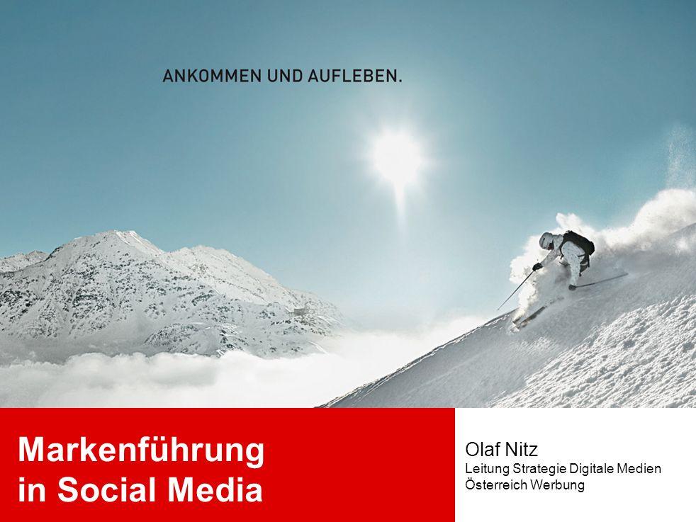 Markenführung in Social Media