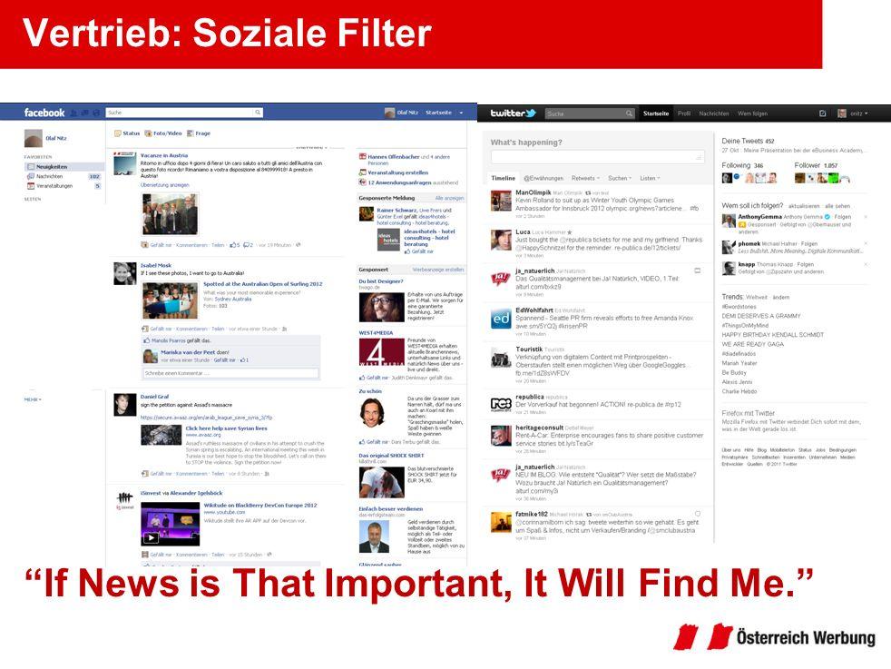 Vertrieb: Soziale Filter