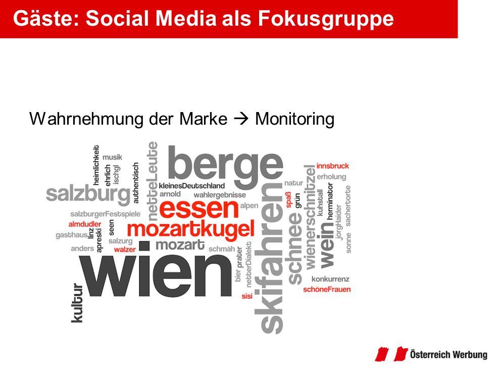Gäste: Social Media als Fokusgruppe