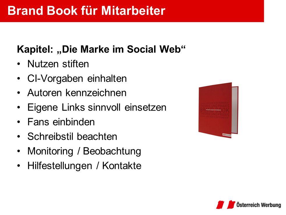 Brand Book für Mitarbeiter