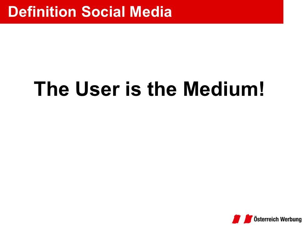 Definition Social Media