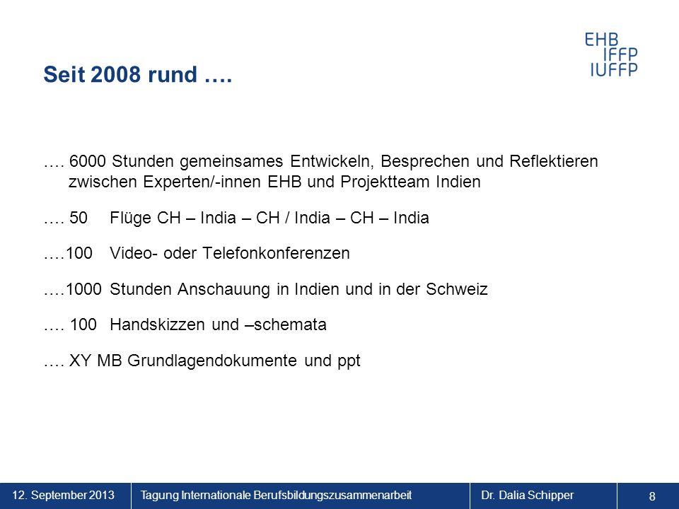 Seit 2008 rund ….