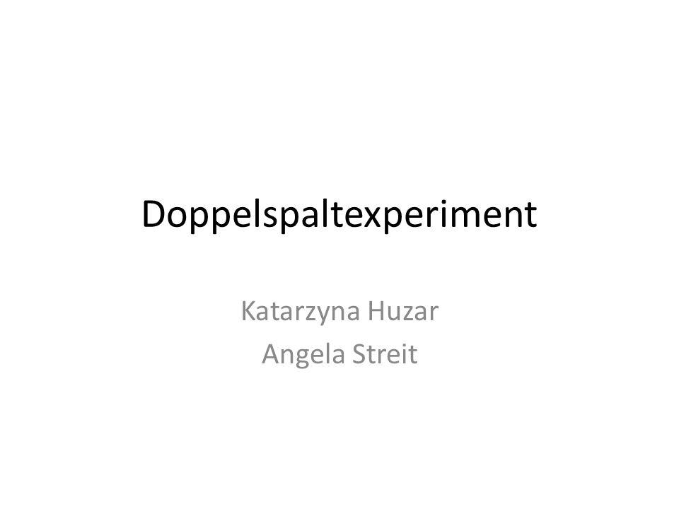 Doppelspaltexperiment