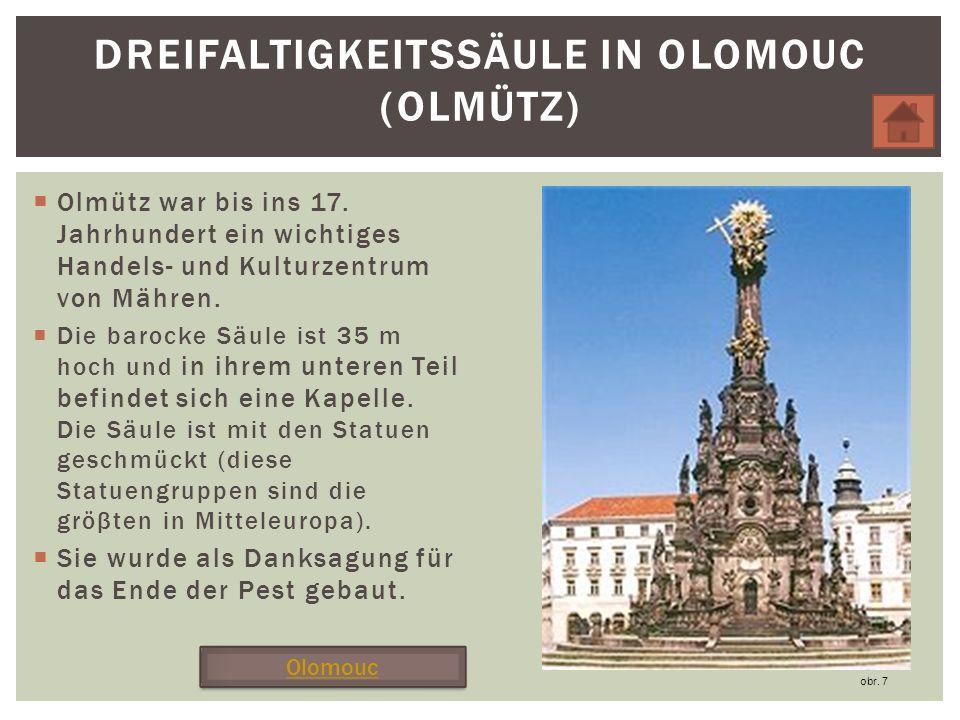 Dreifaltigkeitssäule in Olomouc (Olmütz)