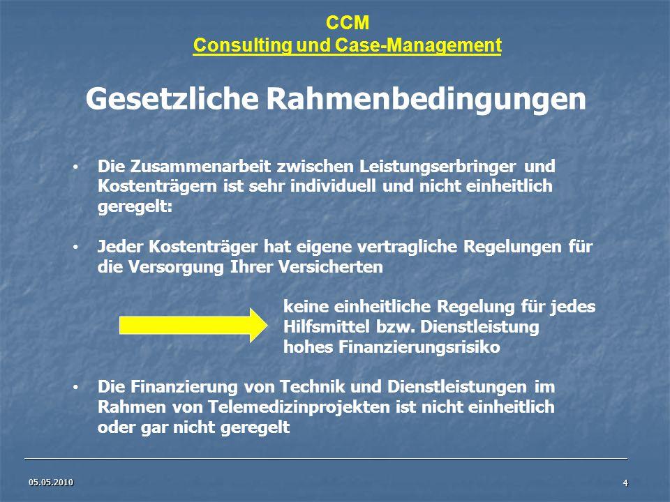 Consulting und Case-Management Gesetzliche Rahmenbedingungen
