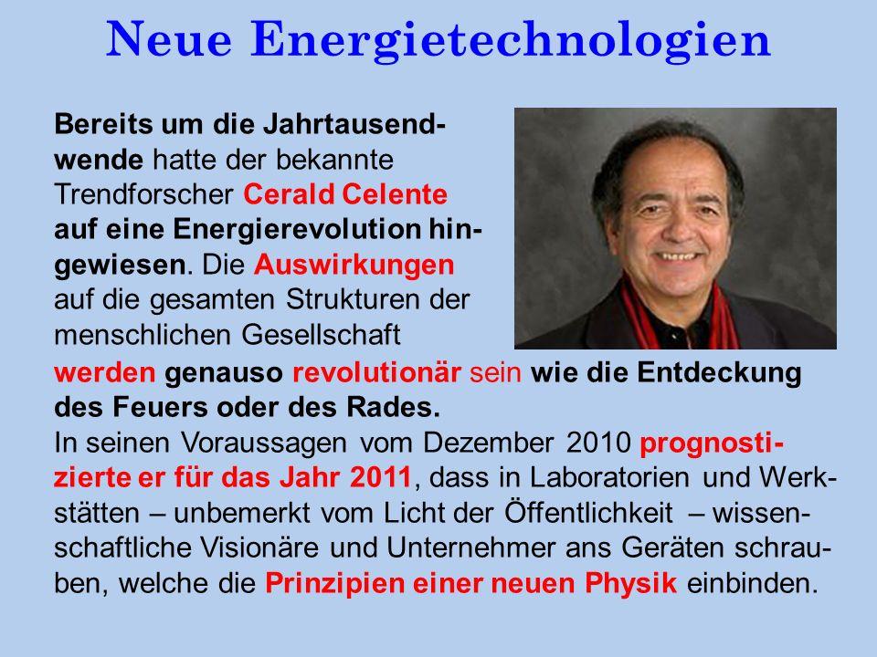 Neue Energietechnologien