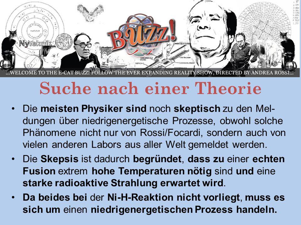 Suche nach einer Theorie