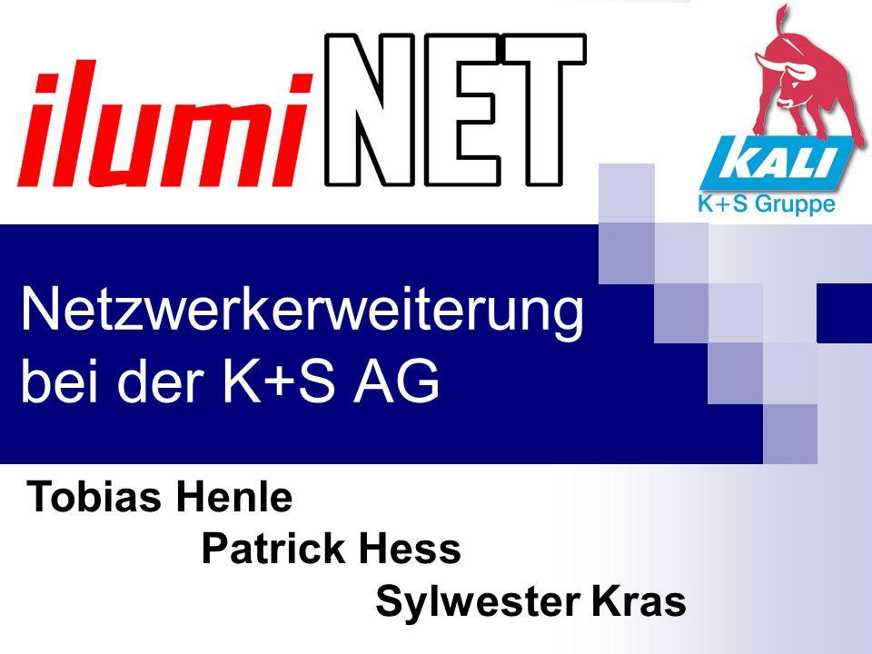 Netzwerkerweiterung bei der K+S AG