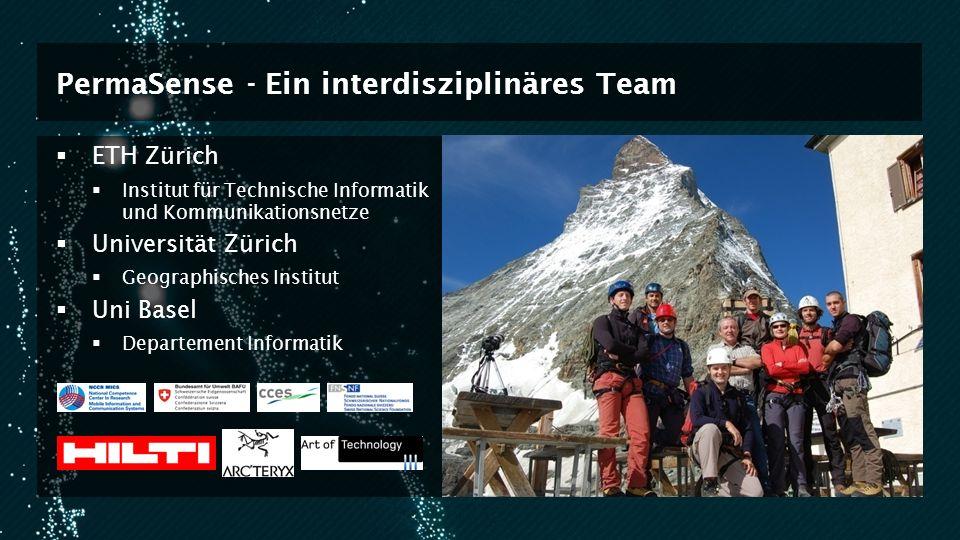 PermaSense - Ein interdisziplinäres Team