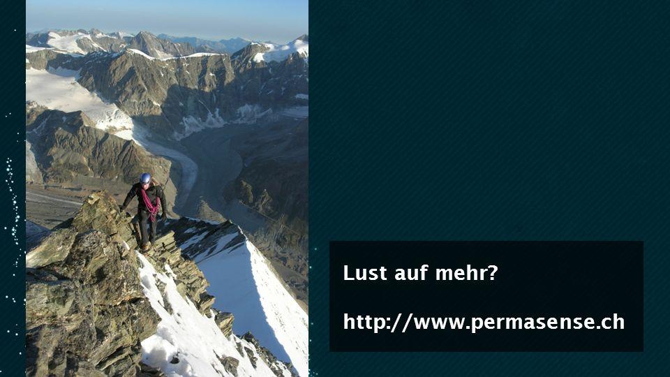 Lust auf mehr http://www.permasense.ch