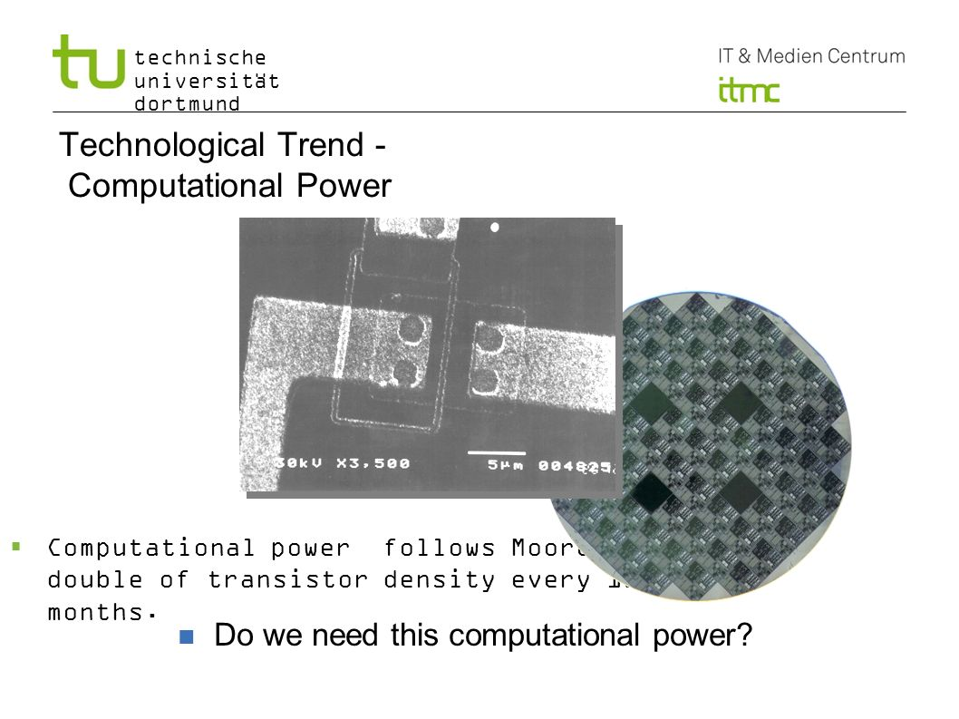 Technological Trend - Computational Power