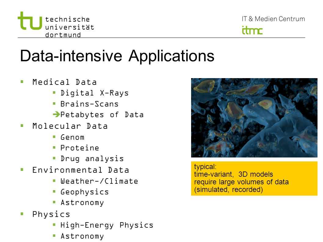 Data-intensive Applications