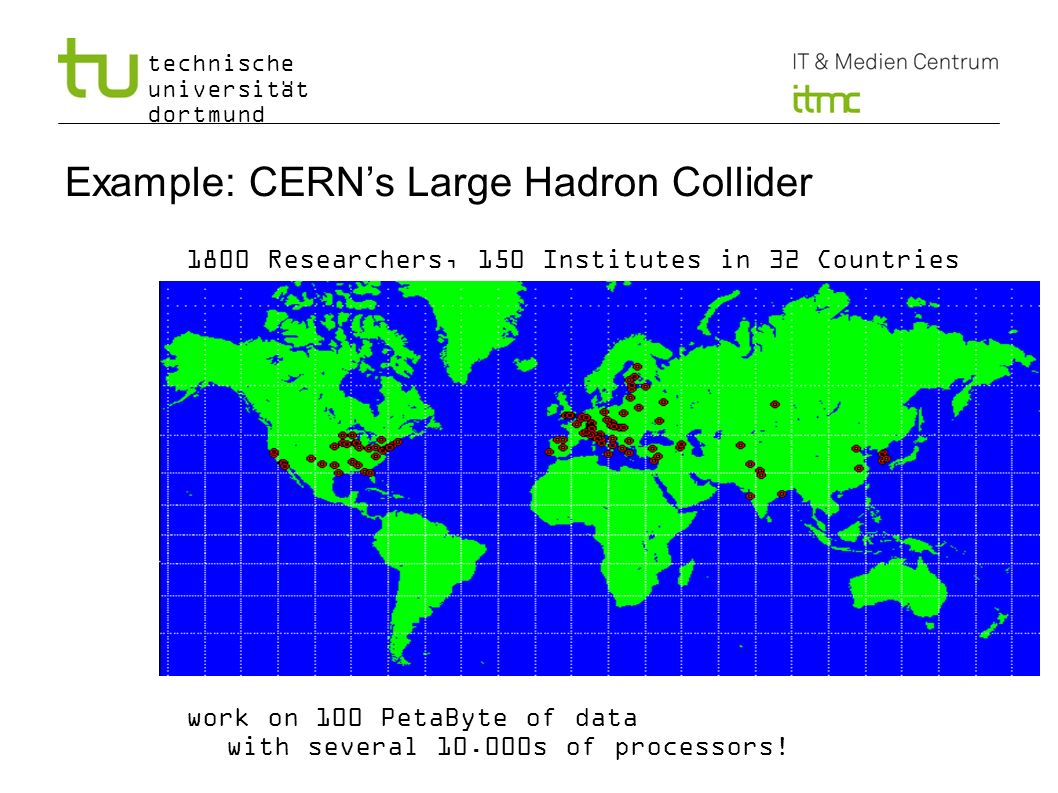 Example: CERN's Large Hadron Collider