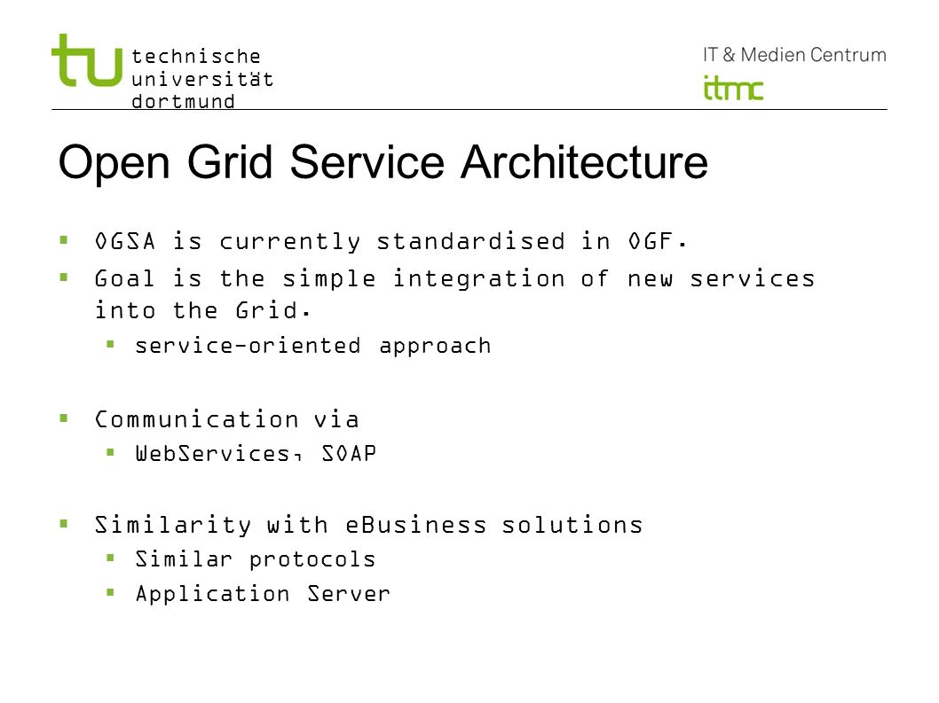 Open Grid Service Architecture