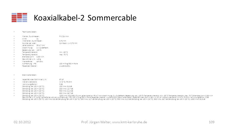 Koaxialkabel-2 Sommercable