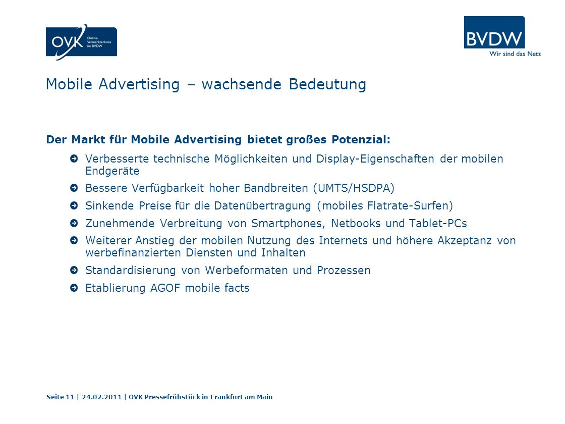 Mobile Advertising – wachsende Bedeutung