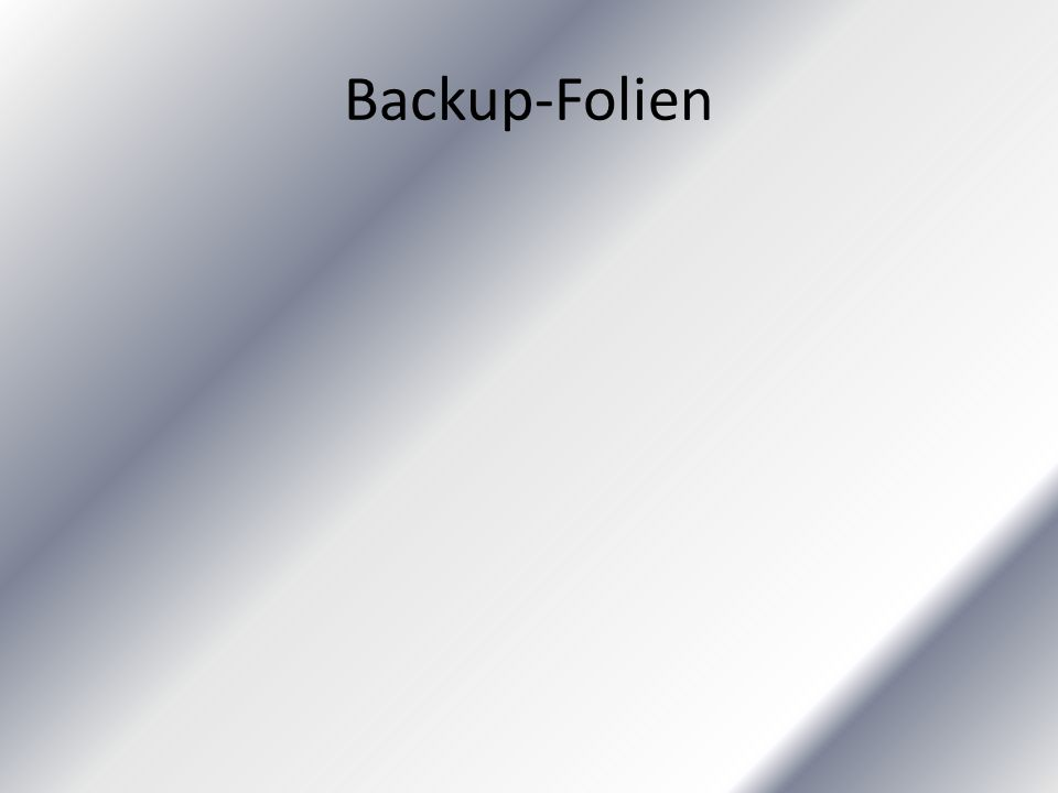 Backup-Folien