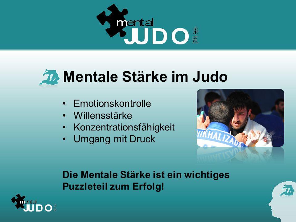 Mentale Stärke im Judo Emotionskontrolle Willensstärke