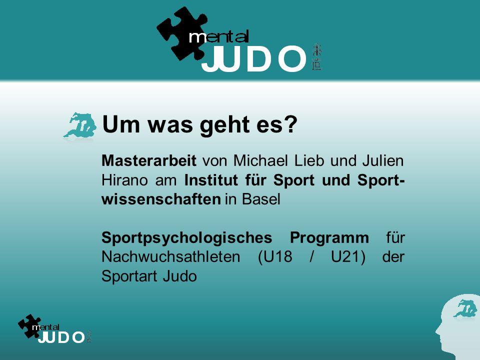 Um was geht es Masterarbeit von Michael Lieb und Julien Hirano am Institut für Sport und Sport-wissenschaften in Basel.