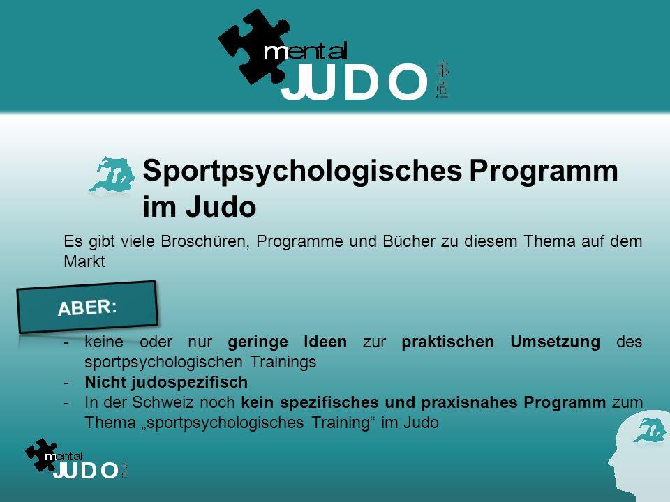 Sportpsychologisches Programm im Judo
