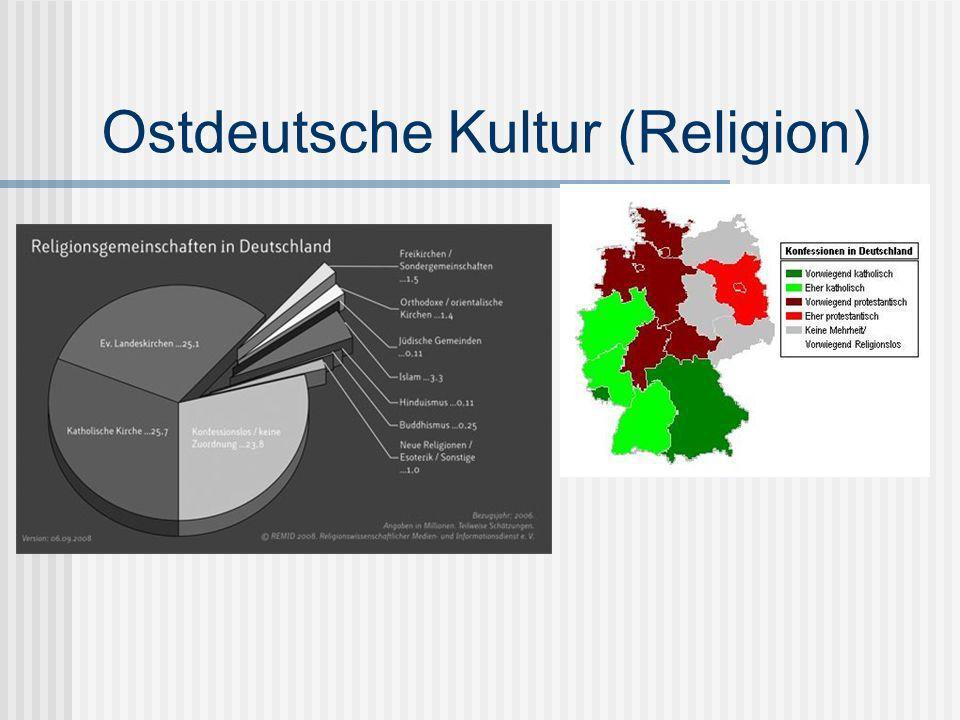 Ostdeutsche Kultur (Religion)