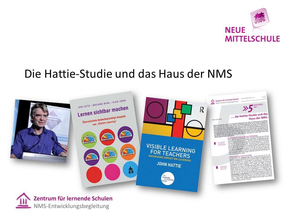 Die Hattie-Studie und das Haus der NMS