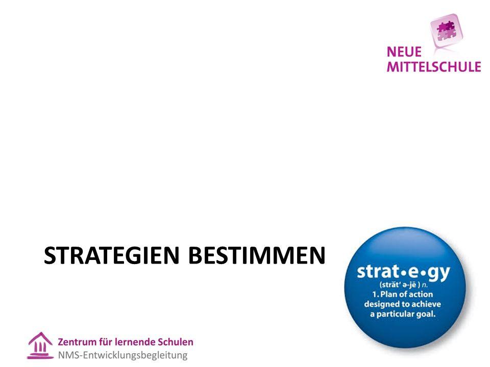 Strategien bestimmen