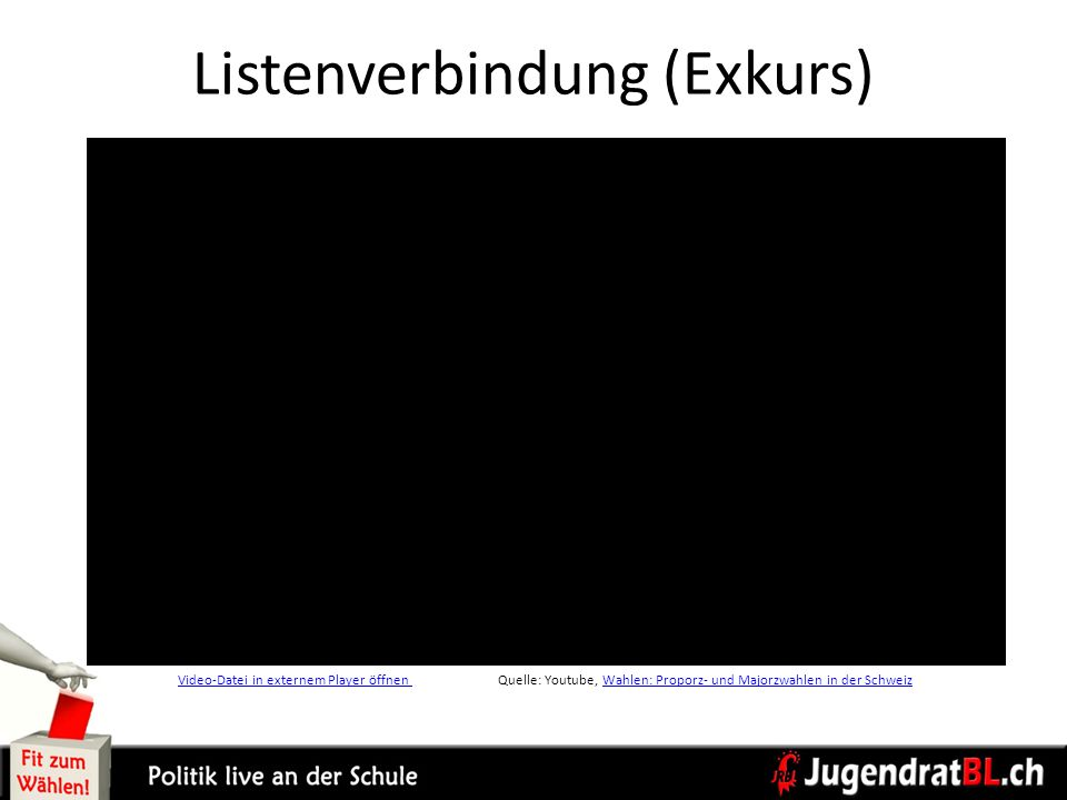 Listenverbindung (Exkurs)