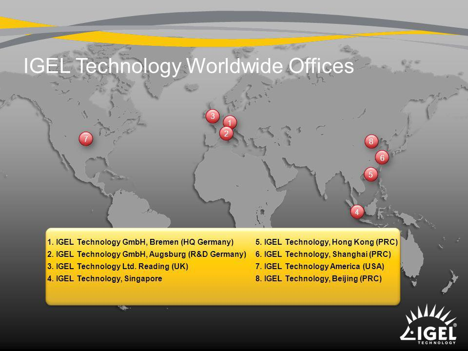 IGEL Technology Worldwide Offices