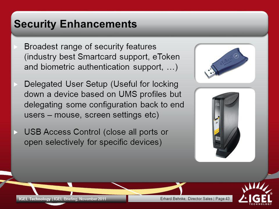 Security Enhancements