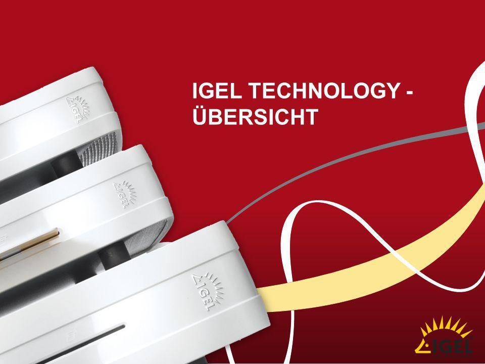 IGEL technology - Übersicht