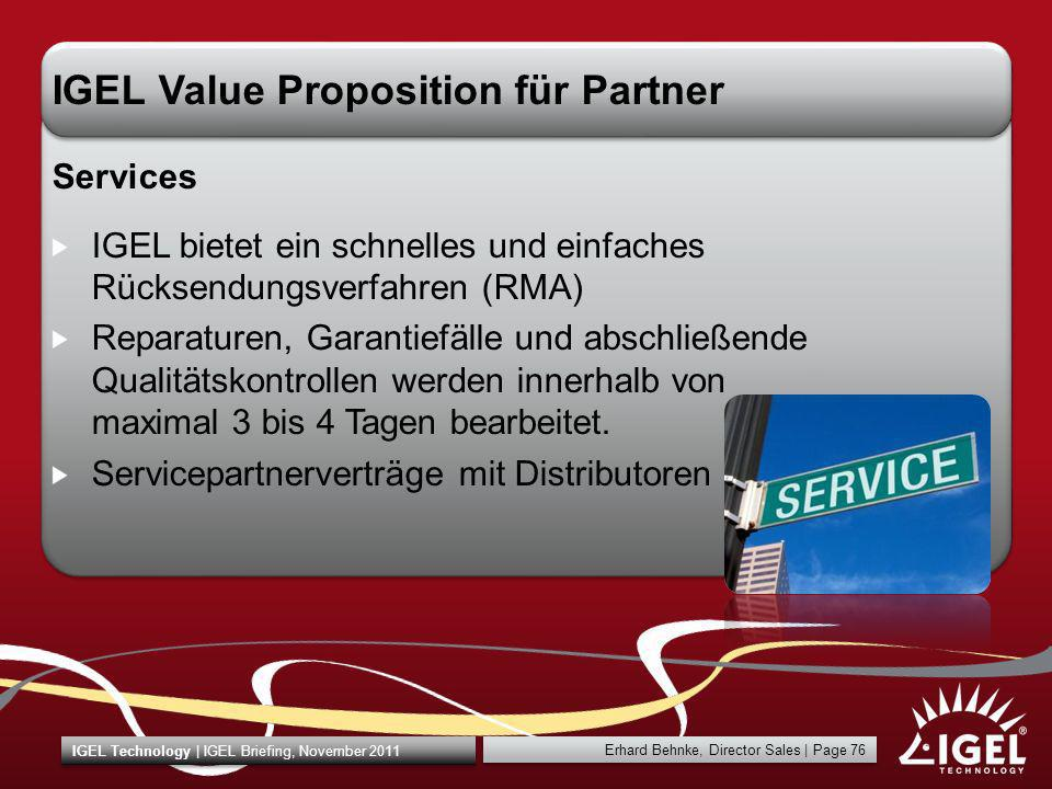 IGEL Value Proposition für Partner