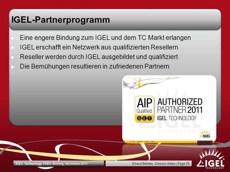 IGEL-Partnerprogramm