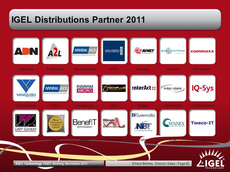 IGEL Distributions Partner 2011