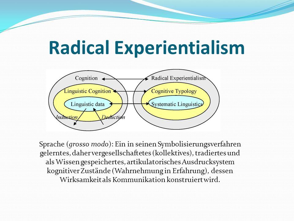 Radical Experientialism