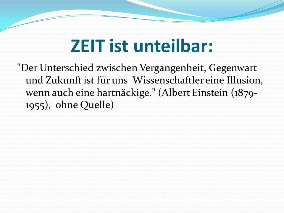 ZEIT ist unteilbar: