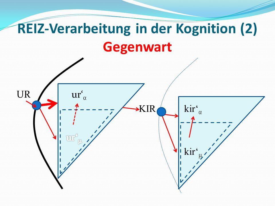 REIZ-Verarbeitung in der Kognition (2) Gegenwart