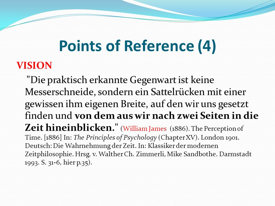 Points of Reference (4)
