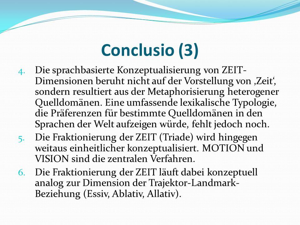 Conclusio (3)