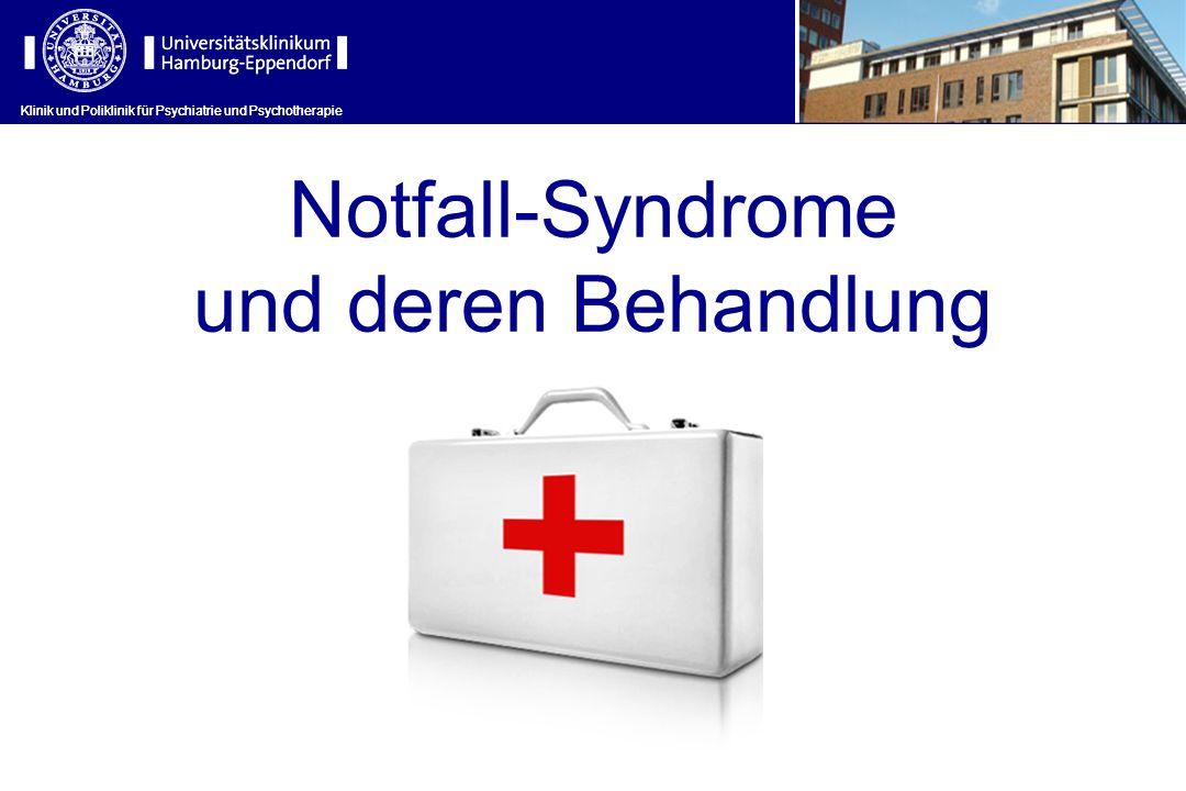 Notfall-Syndrome und deren Behandlung